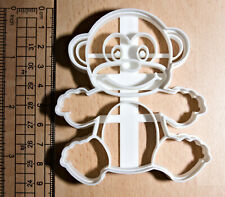 Monkey Cookie or fondant  Cutter 3d printed