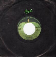"GEORGE HARRISON - GIVE ME LOVE ( DUTCH APPLE  5C006-05354) 7""PS 1973"