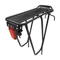 """Bicycle Rear Pannier Rack Supertour Lighter 26"""" Black Tortec"""