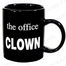 The Office CLOWN funny novelty Coffee Mug / joke gift secret Santa 064/837