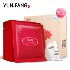 7X YUNIFANG Máscara Facial antiedad Antiarrugas Hidratante Cuidado De La Cara