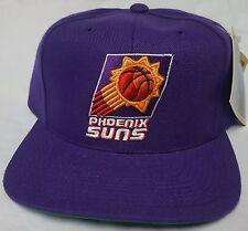 New! NBA Phoenix Suns Purple Embroidered Snapback Cap