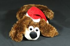 "Flipo Toys Animated Christmas Puppy Dog Toy Flipping Sound Plush Stuffed 12"""