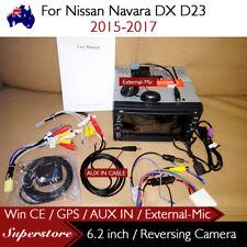 """6.2"""" CAR DVD GPS Player Head Unit Navi For Nissan Navara DX D23 2015-2017"""
