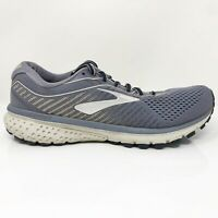 Brooks Womens Ghost 12 1203051B086 Gray Running Shoes Lace Up Low Top Size 9.5 B