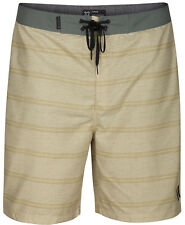 Hurley Size 32 Shoreside Board Shorts Buff Gold NEW With Tags Surf Swim