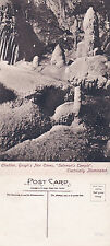 1926 SOLOMONS TEMPLE GOUGHS CAVES CHEDDAR SOMERSET UNUSED POSTCARD