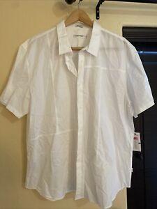 Calvin Klein White XXL Button Up Shirt