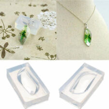 S shape Pendant Silicone Mould DIY Resin Decor Jewelry Earring Necklace Mold
