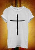 Cross Believe Religious Jesus Hipster Men Women Unisex T Shirt Tank Top Vest 514