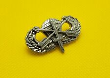 Special Forces Airborne Jump Wing Badge Military Parachutist Insignia Silver Pin