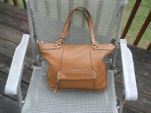 MICHAEL KORS Honey Color Leather Handbag/Tote