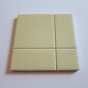"""Vintage 1970s 4"""" x 4"""" Wall Tile, 230 Sq Ft Available, Made in the USA"""