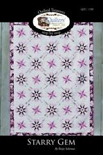 New Pieced Quilt Pattern STARRY GEM  3 Size Options