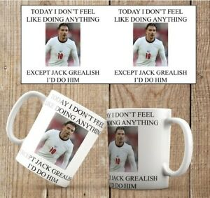 England Mug Jack Grealish Euros 2020 Gift Present Birthday Football male