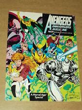 AVENGERS ANNIVERSARY MAGAZINE #1 NOVEMBER 1993 MARVEL AGE SPECIAL US MAGAZINE~