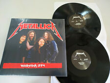 """Metallica Woodstock 1994 Limited Edition to 500 copies 2 x LP Vinilo 12"""" VG+/VG+"""