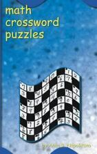 Math Crossword Puzzles (Paperback or Softback)