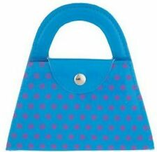 Twos Company 6 Piece Polka Dot Manicure Set - Blue