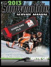 Arctic Cat 2013 ProCross XF1100 Turbo Sno Pro Ltd Service Manual