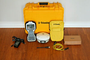 Trimble R8 Model 4 GPS GNSS BeiDou Galileo Base Rover Receiver w/ TSC3 Access
