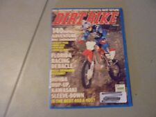 JUNE 2008 DIRT BIKE MAGAZINE,FLORIDA RACING,BMW650,KTM950,DUCATI 1100,APRILLA 55