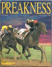 SUNDAY SILENCE & EASY GOER 1989 PREAKNESS STAKES HORSE RACING PROGRAM!
