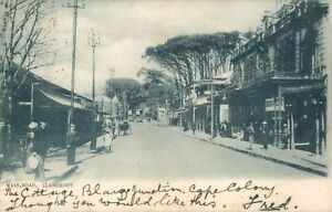 Claremont main road 1904 australia early postcard Tucks view series 3