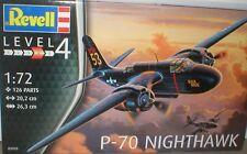 Douglas P-70 Nighthawk de USAAF Ruedas, pistola Pack, 2 X versiones de nariz de radar. 1/72