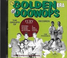 Golden Era Of Doo-Wops - Fury Records - Part 1 - 25 Tracks - Like New CD