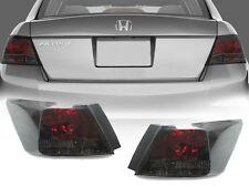 DEPO JDM Red / Smoke Rear Tail Lights Pair For 2008-2010 Honda Accord 4D Sedan