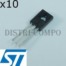 MJE350 Transistor PNP 300V 500mA TO-126 STM (Lot de 10)
