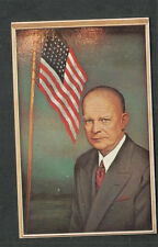 Scott 1401 first day cover FDC Morris Katz post card Dwight Eisenhower coil