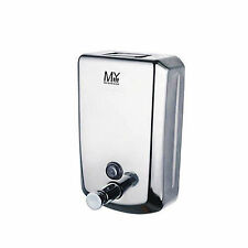 Curva Commercial Grade Stainless Steel Bathroom Wall Mounted Soap Dispenser