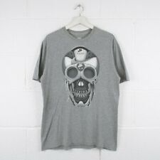 Vintage NIKE AIR MAX Grey Crewneck Skull T-Shirt Mens Size Medium