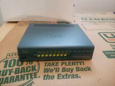 Cisco ASA 5505 Firewall Series Adaptive Security Appliance No Power Supply