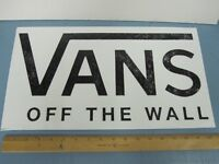VANS skateboard snowboard BMX surf E-Z PEEL BIG sticker Flawless New Old Stock