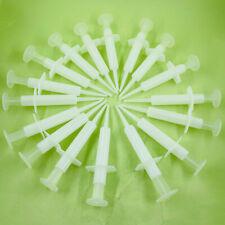 Dental Disposable Impression Syringe Injectors With Tip Amp Plunger Bag Of 50pcs