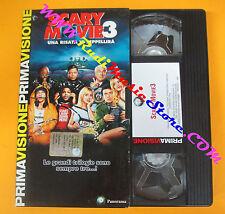 VHS film SCARY MOVIE 3 David Zucker Leslie Nielsen PANORAMA (F122) no dvd