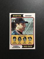 1974 Topps Set Break #403 Red Sox Leaders NM-MT OR BETTER From Vending