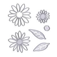 6 X Flowers die cuts metal die cutting dies in scrapbooking Cutting Dies #gib