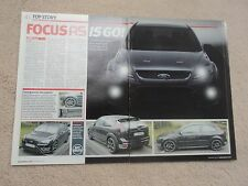 Ford Focus RS Mk 2  - 1st Teaser Images (AutoExpress) - 2008