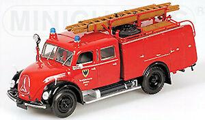 Magirus Deutz Merkur TLF16 - 1959 Feuerwehr Aachen 1:43 Minichamps 439141071