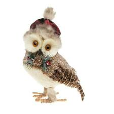 Country Owl Christmas Decoration
