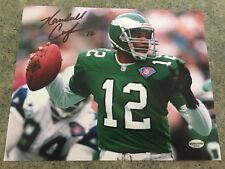 RANDALL CUNNINGHAM  PHILADELPHIA EAGLES AUTHENTIC AUTOGRAPHED 8X10 ACTION POSE