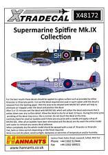 Xtra Decals 1/48 SUPERMARINE SPITFIRE Mk.IX Collection