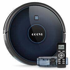 Goovi New Robotic Vacuum Cleaner Smart Automatic Sweeper Robot Remote Blue/Black