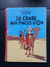 Tintin album: Le crabe aux pinces d´or 1962