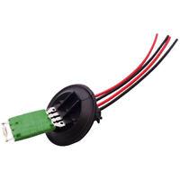 Heater Blower Fan Resistor + Wiring Loom Harness For Audi A1 VW Polo Seat Skoda