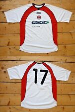CLYDE FOOTBALL SHIRT SOCCER SHIRT #17 MATCHWORN HOME JERSEY size:large